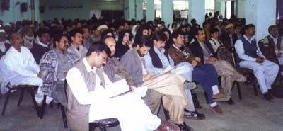 A large number of journalists participated the function.