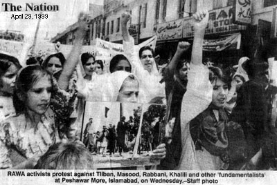 A photo published in The Nation, April 29,1999
