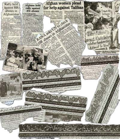 Clipping of the newspapers