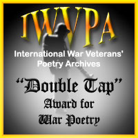 "This poem has been awarded ""Double Tap Award For War Poetry"""