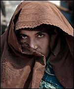 refugee woman