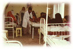 The hospital was closed due to financial problems of RAWA