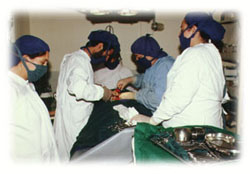 Malalai Hospital doctors also operated patients