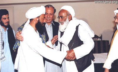 Taliban, the Northern Alliance with their Pakistani master