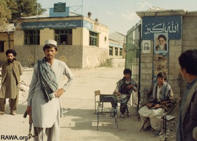 Pro-Iran Wahdat Party fighters during the bloody years of 1992-96 in Kabul