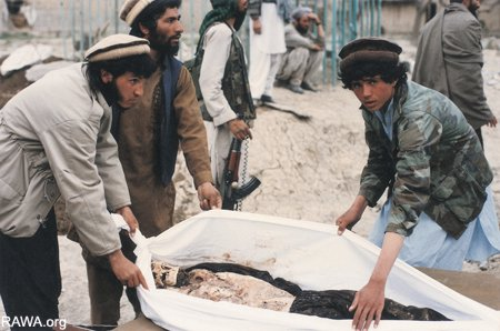 Mass graves in Afghanistan