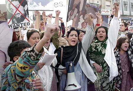 More than 1,000 women and girls participated in the rally
