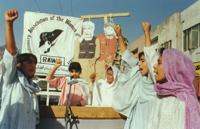 RAWA demo at Islamabad