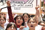 RAWA rally on the Black Day