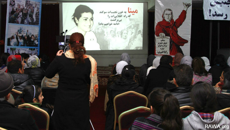 RAWA commemorates the 29th anniversary of Meena's martyrdom