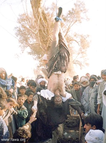 Antoher victim hanged by police in Farah city