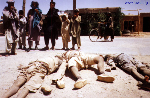 Executed by Taliban in Herat province