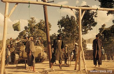 Execution under the Jehadis on Sep.7, 1992