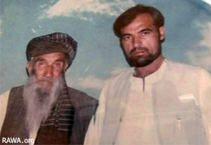 Asadullah with his father
