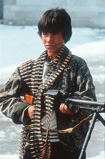Child soldier in Afghanistan