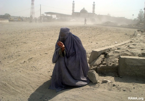 Afghan widows live in poverty and destitution