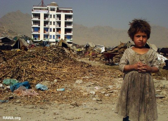 kabul city pics. poor in Kabul