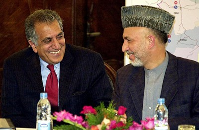 Karzai and Khalilzad