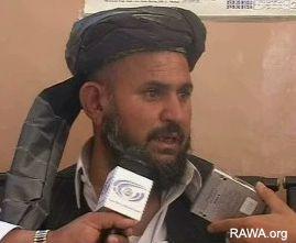 Haji Nik Mohammad of Panjwaee village
