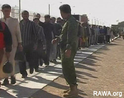 Afghan refugee are being deported from Iran