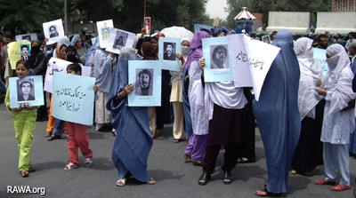 Protest of victims in Kabul