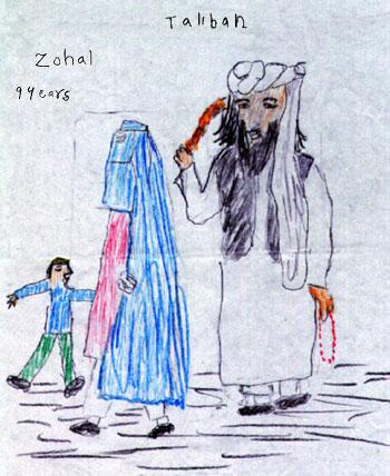 Dibujos de Niños Afganos