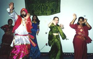 Bhangra, India's most popular folk dance performed in the event
