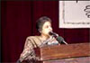 Asma Jehangir delivers her speech