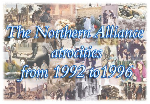 NA atrocities in Afghanistan from 1992-96