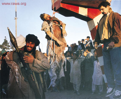 Najib and his brother executed by Taliban in Kabul