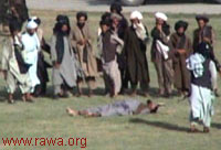 Photo of Qasas [religiously sanctioned slitting of human throats]