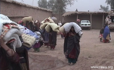 Getting a quilt for these unfortunate women means saving their children from cold.