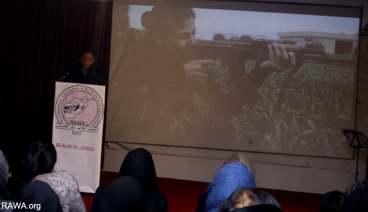 The women of Kobani were honored in a speech on the 28th martyrdom anniversary of Meena