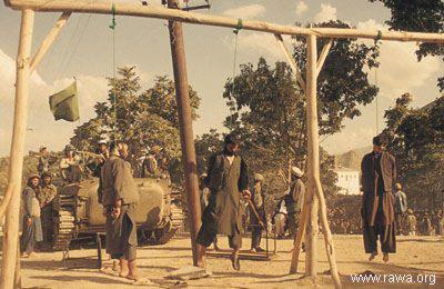 اعدام هموطنان در زمان حاکمیت سیاه جهادی ها