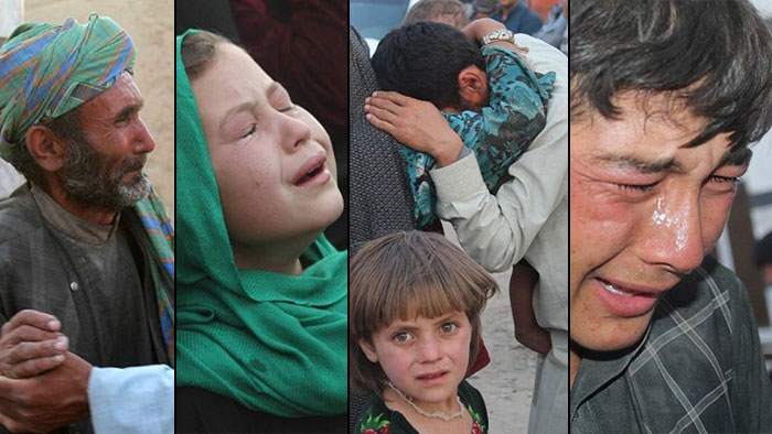 Mirzawlang massacre by Taliban and ISIS in Sare Pul province of Afghanistan