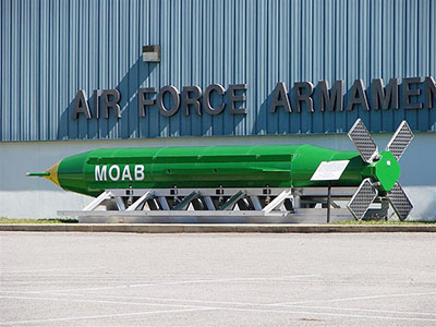 MOAB used in Afghanistan