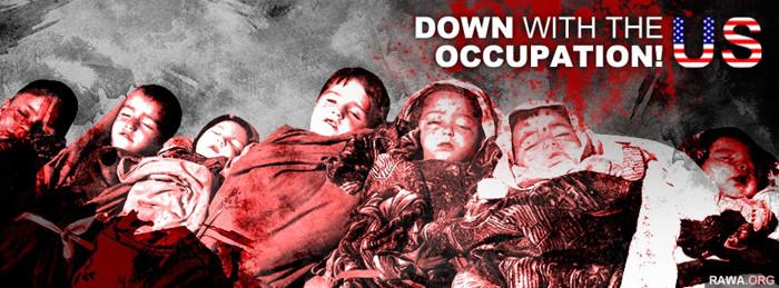 مرگ به اشغال افغانستان توط امریکا