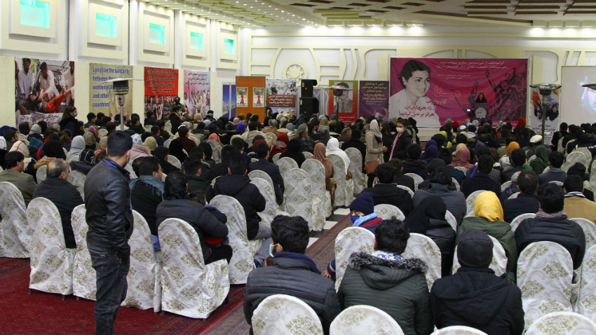 RAWA commemorates Meena's 33rd martyrdom anniversary in a function in Kabul
