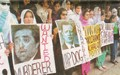 RAWA protests against Afghan representatives