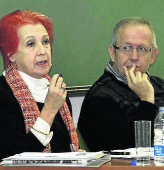 Los periodistas Rosa María Calaf y Juan José Téllez