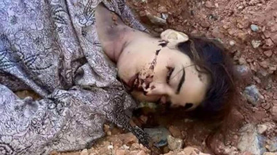 Rukhshana was stoned to death by Taliban
