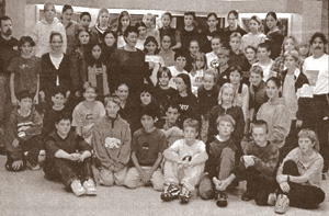 The Roberts Creek Elementary School children