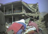 3 houses were destroyed in Qala-e-Zaman Khan. 5 members of one family were killed which included 4 women and a child