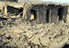 6 houses in Qala-e-Wakel were destroyed by a US missile (October 14, 2001)