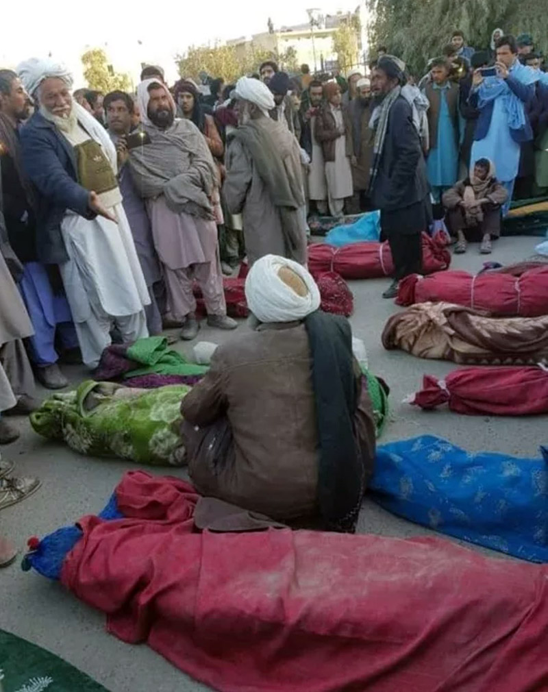18 civilians killed in nimruz airraid