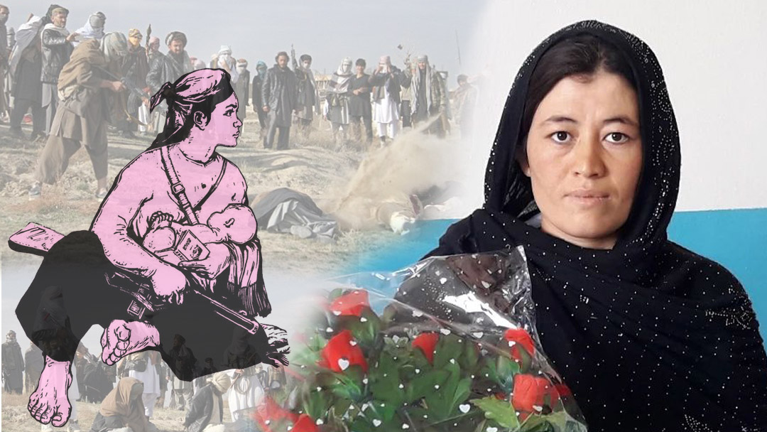 Gul Aram who resisted Taliban with gun