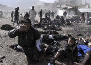 Ashura ceremony blast in Kabul