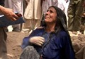 Tour with Tears in Afghan Bombed Village