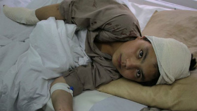 Afghan children victims of war