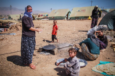 Afghan IDPs living in bad conditions